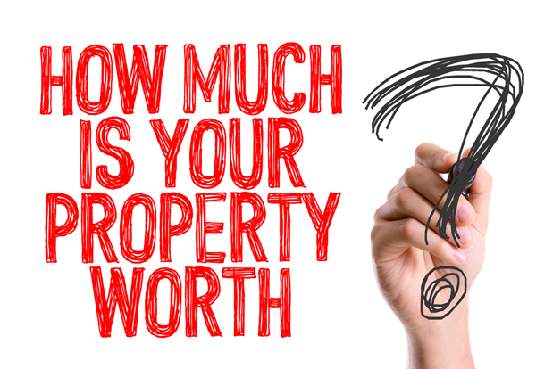 How much is your property worth? graphic